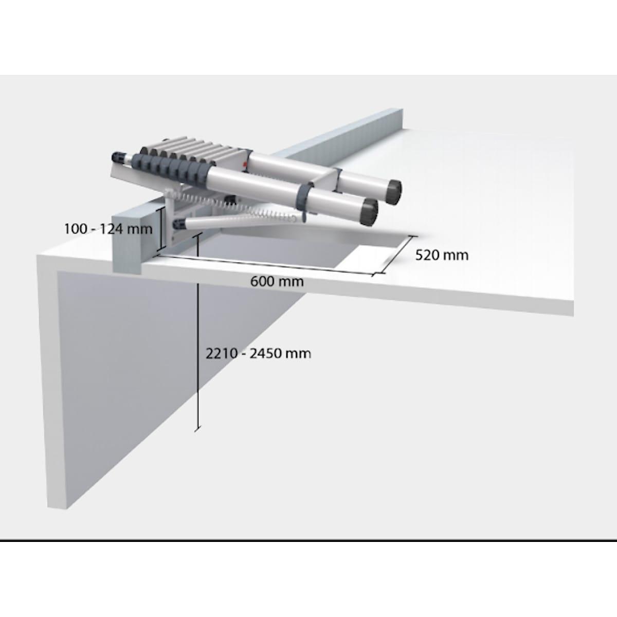 Telesteps Loft Mini loftstige