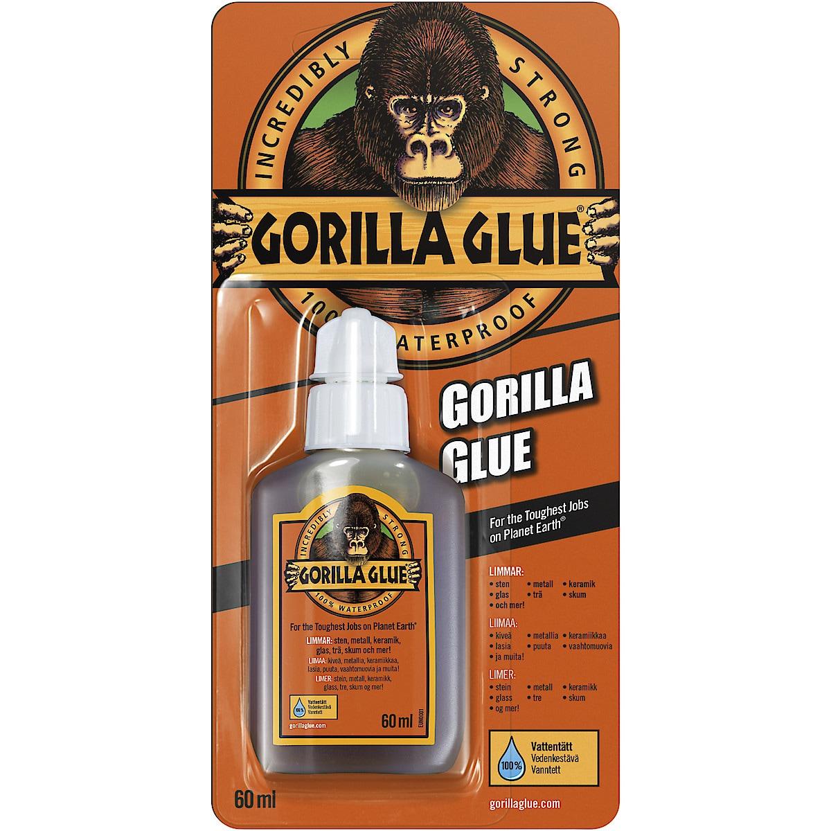Polyuretanlim Gorilla, 60 ml