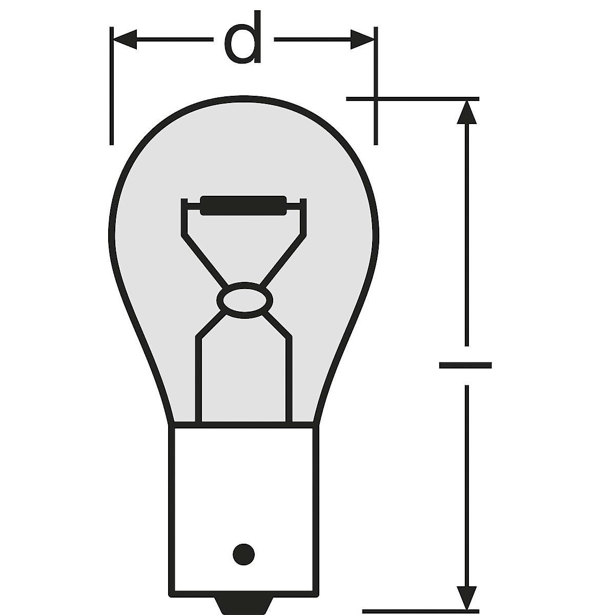 Osram PY21W, BAU15s Car Bulb