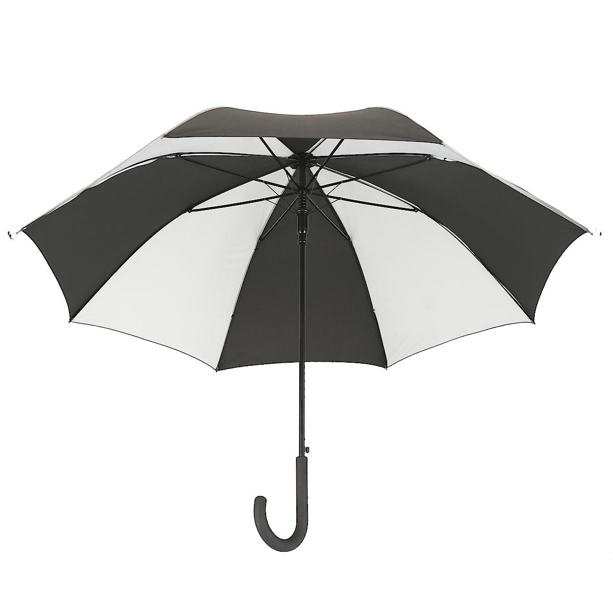Paraply med reflex 100 cm, Asaklitt
