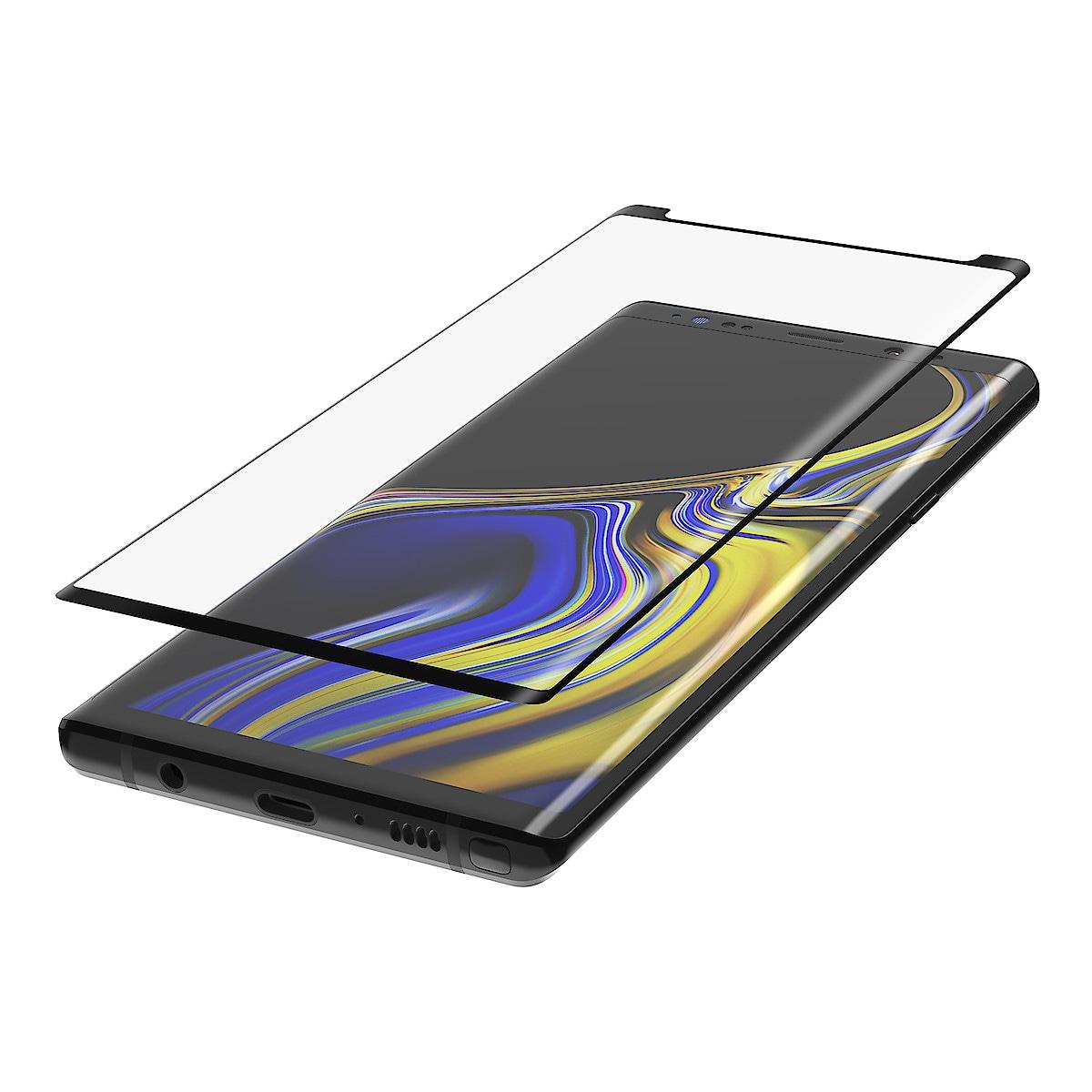 Displayschutz Samsung Galaxy Note 9, Belkin Screenforce TemperedCurve