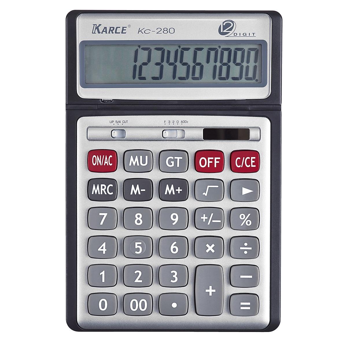 Miniräknare med vinklingsbar display