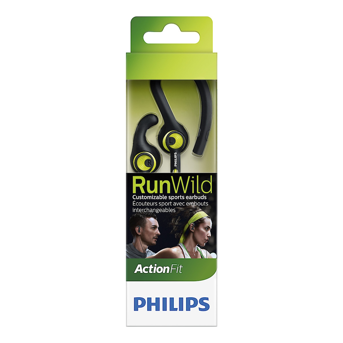 Philips ActionFit SHQ1400CL sportshodetelefoner