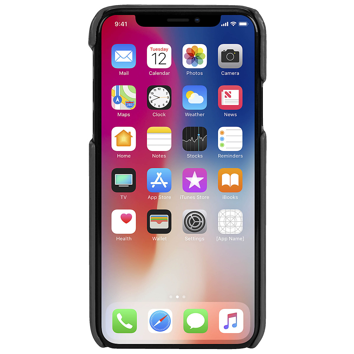Kotelo iPhone XS Max, Krusell Sunne Cover