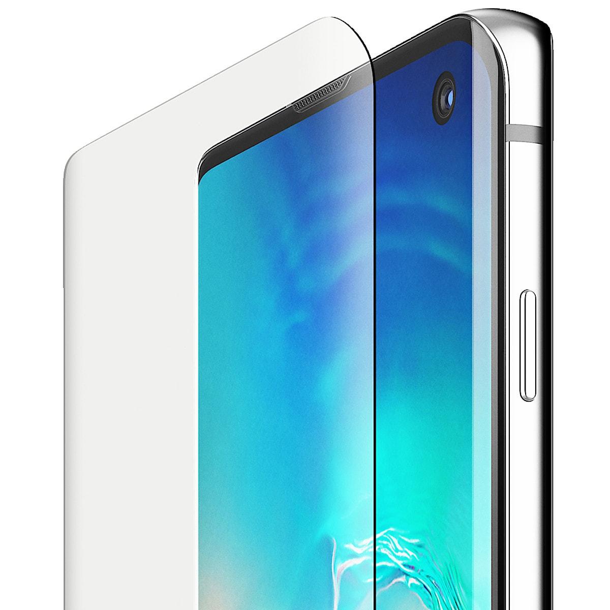Displayschutz Galaxz S10, Belkin ScreenForce InivisiGlass Curve
