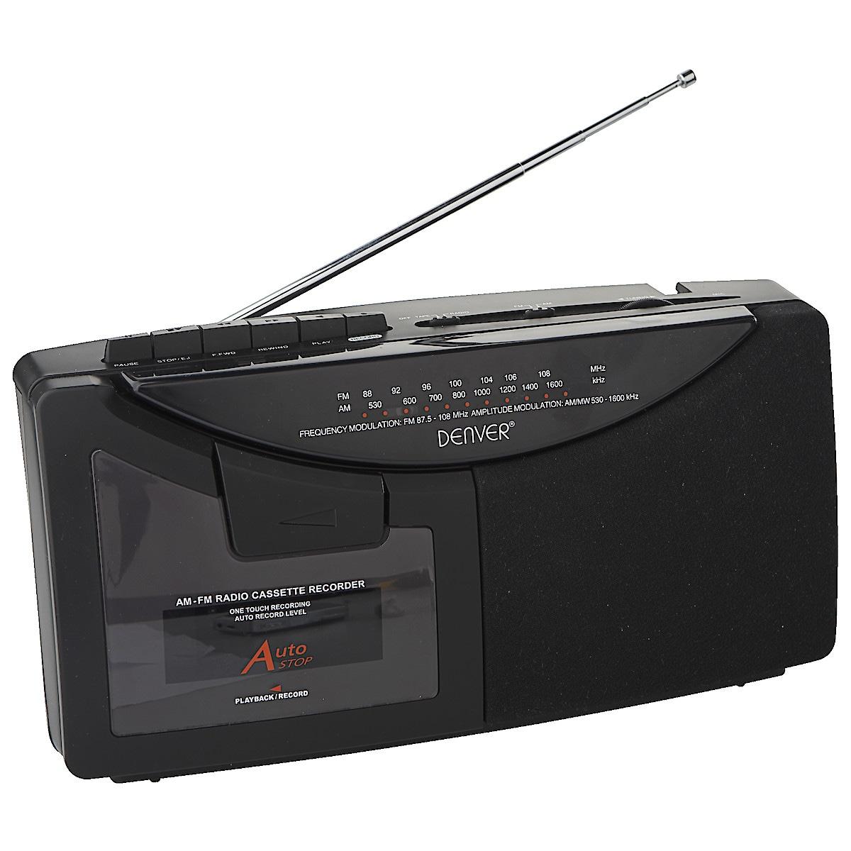 Denver TR-49 AM/FM Radio Cassette Player