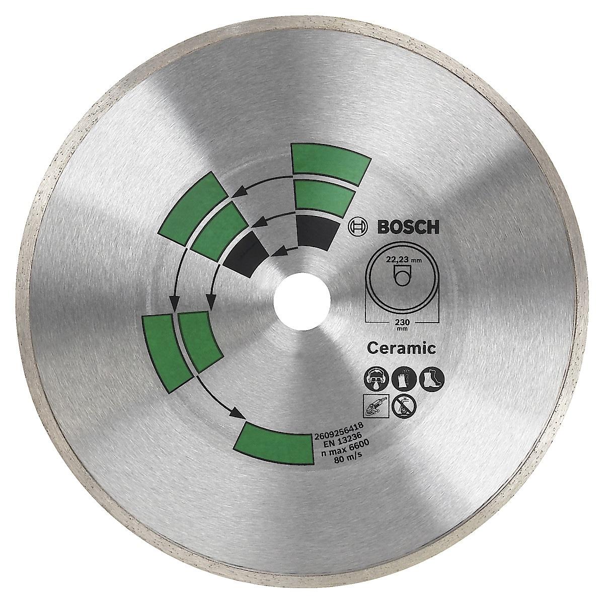 Diamantkapskiva för kakel 125 mm Bosch