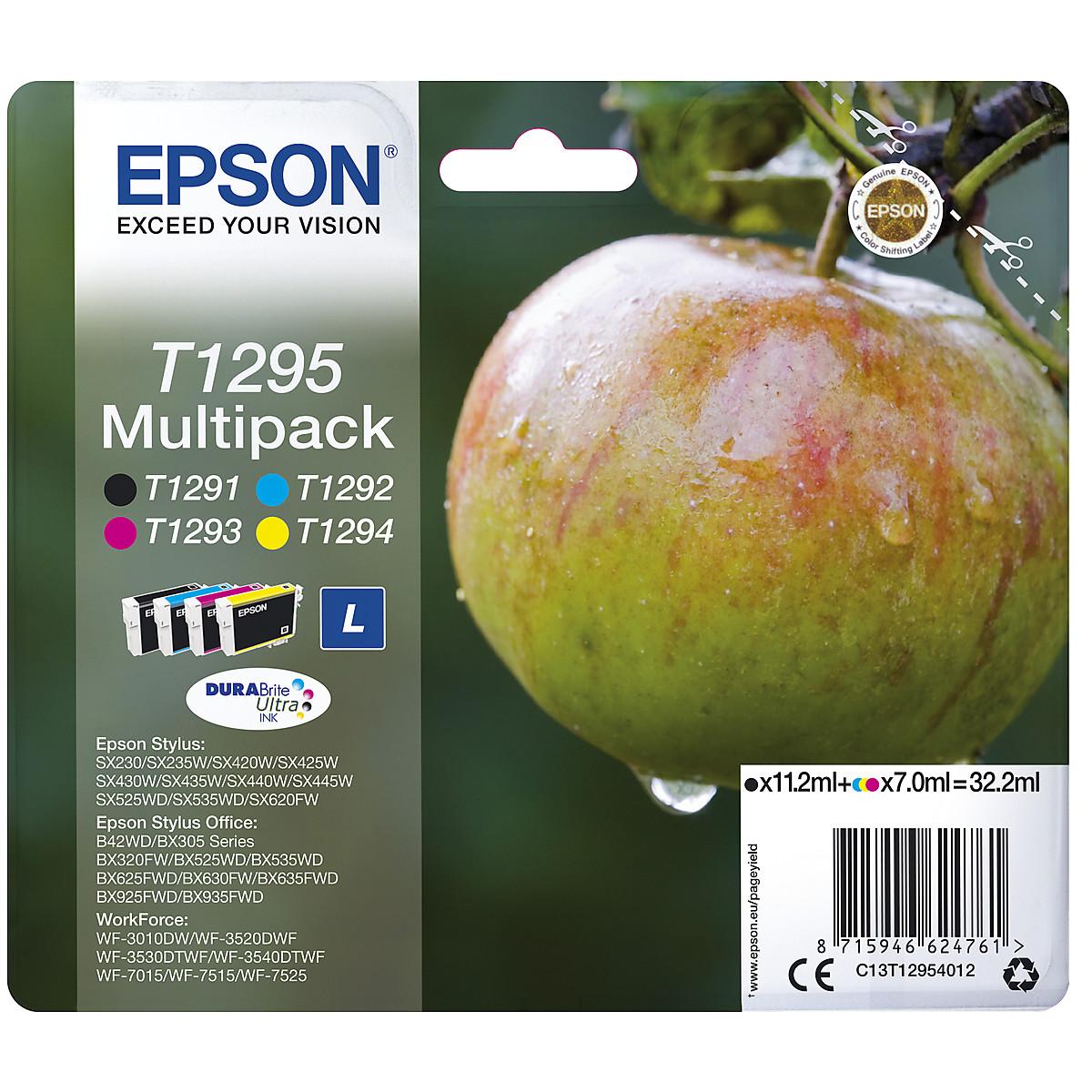 Epson Ink Cartridge T1291,T1292,T1293,T1294,T1295