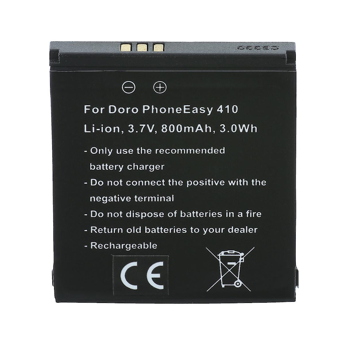 Batteri till Doro 409/410/605/610/612