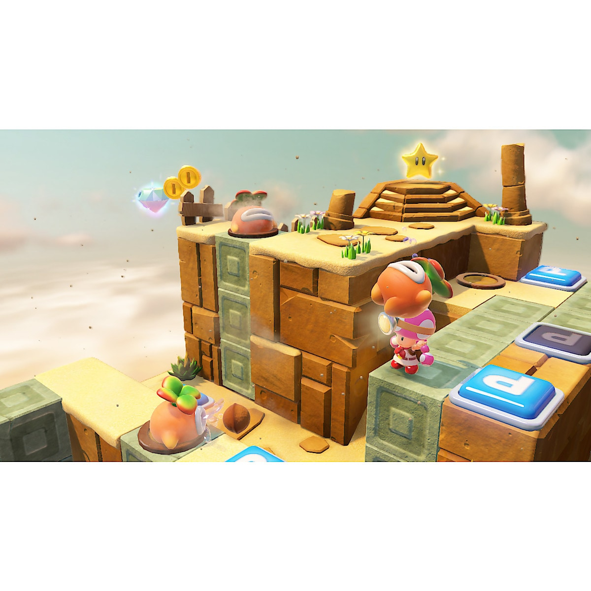 Captain Toad Treasure Tracker Game for Nintendo Switch