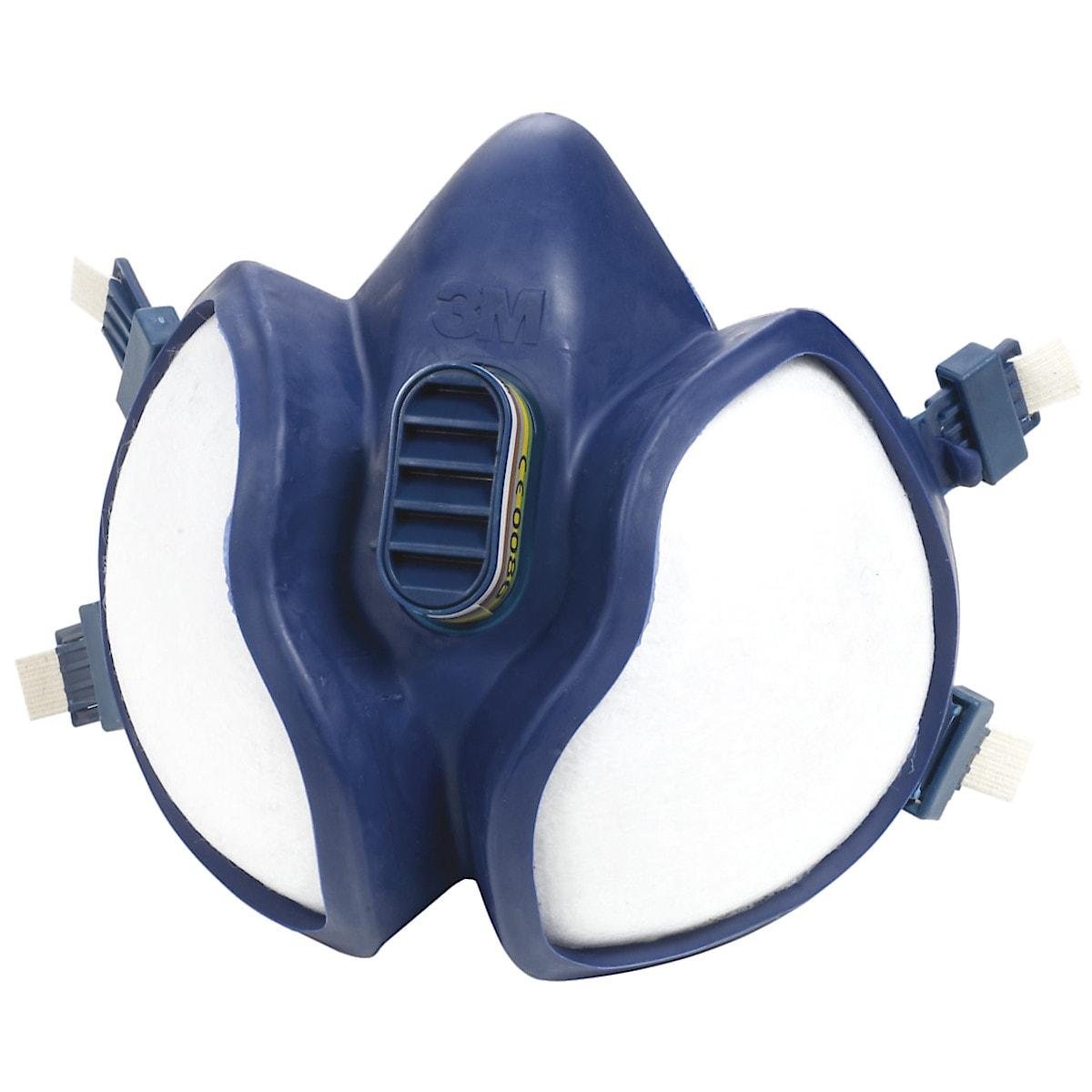 Skyddsmask med kolfilter 3M 4255