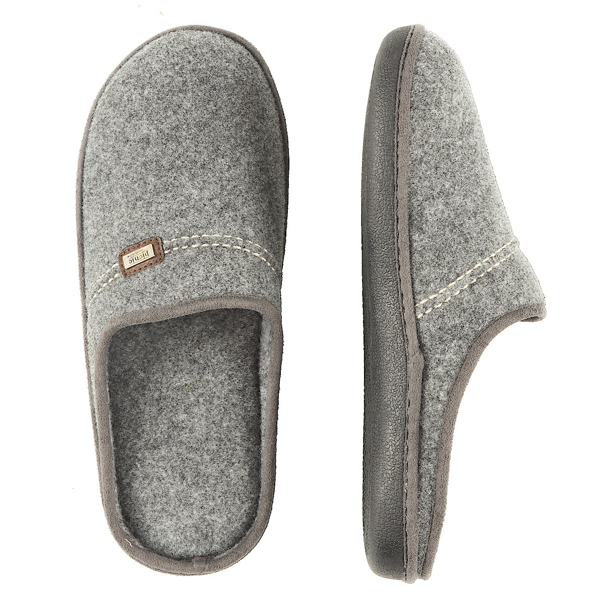 Mens Slippers, Grey