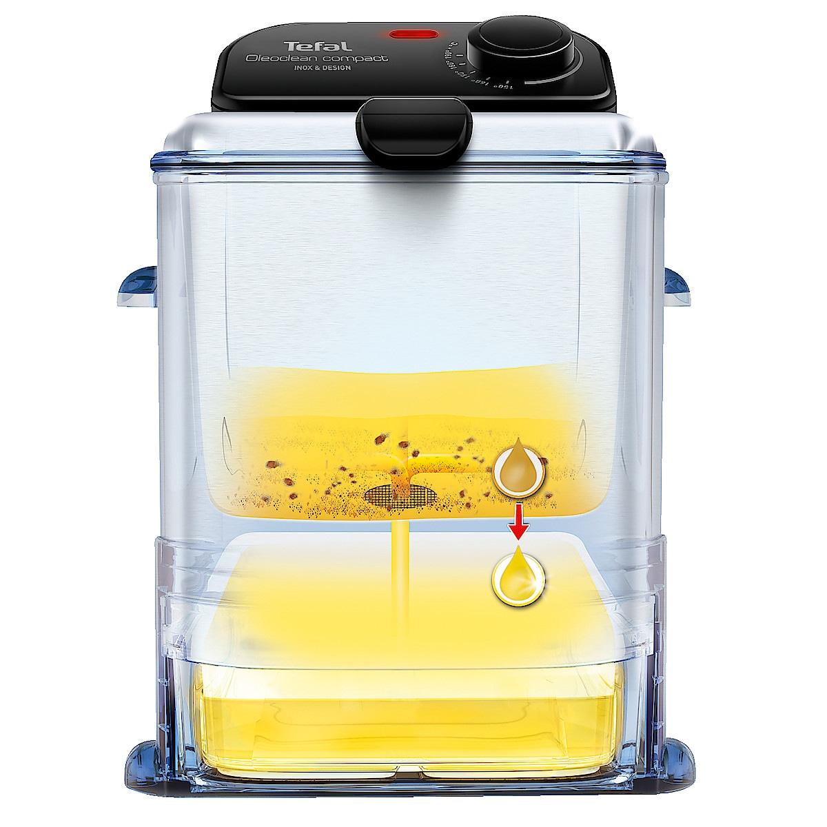 Friteerauskeitin Tefal Oleoclean Compact FR701616