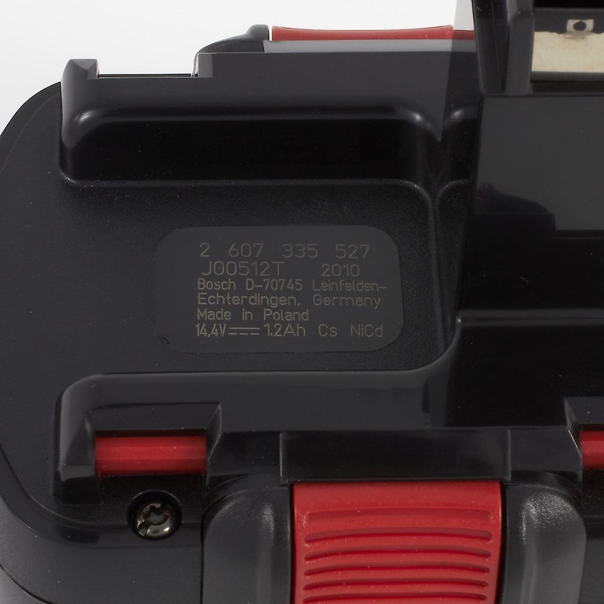 Bosch 14,4 V, batteri