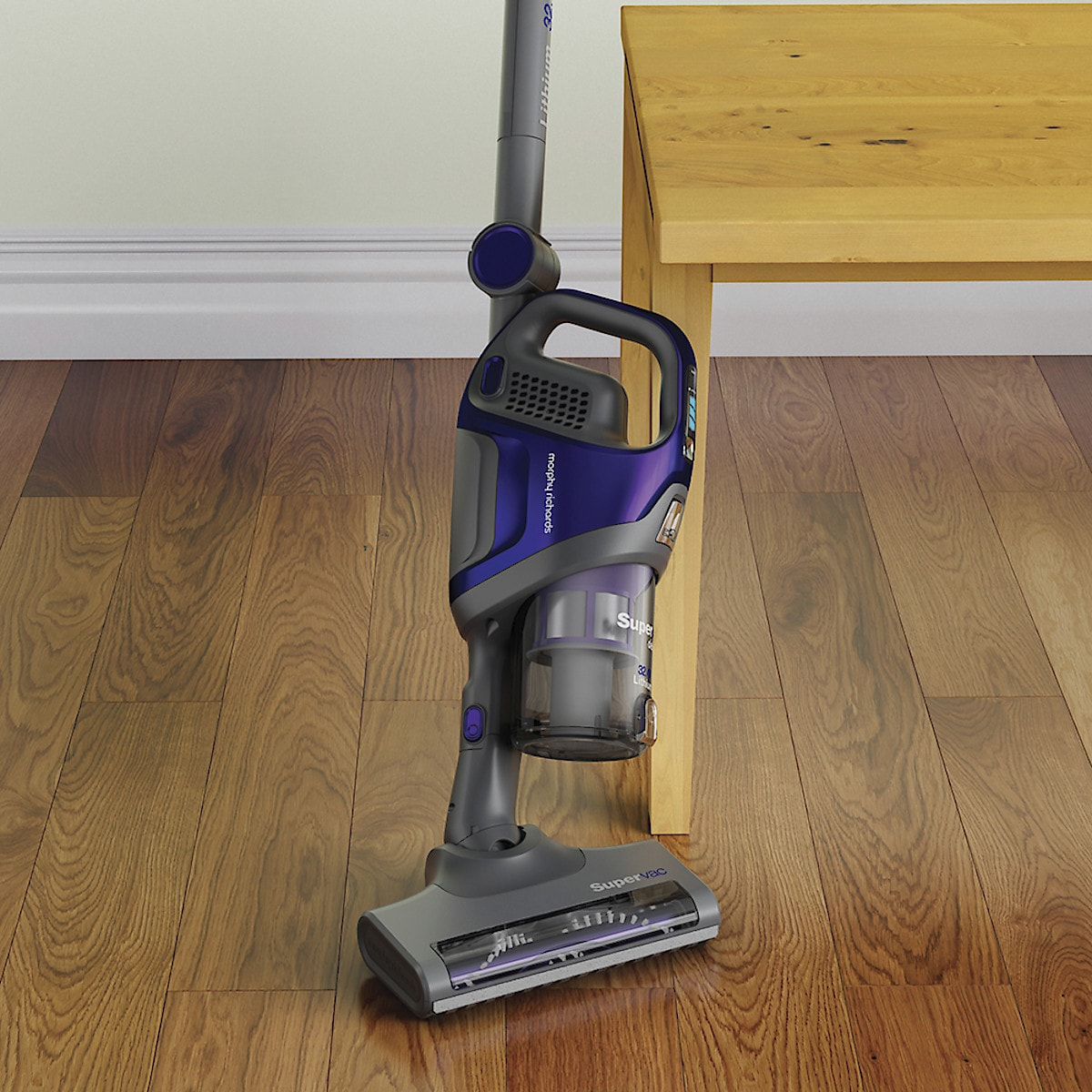 Morphy Richards 734050 Supervac Deluxe 3-in-1 Cordless Vacuum Cleaner