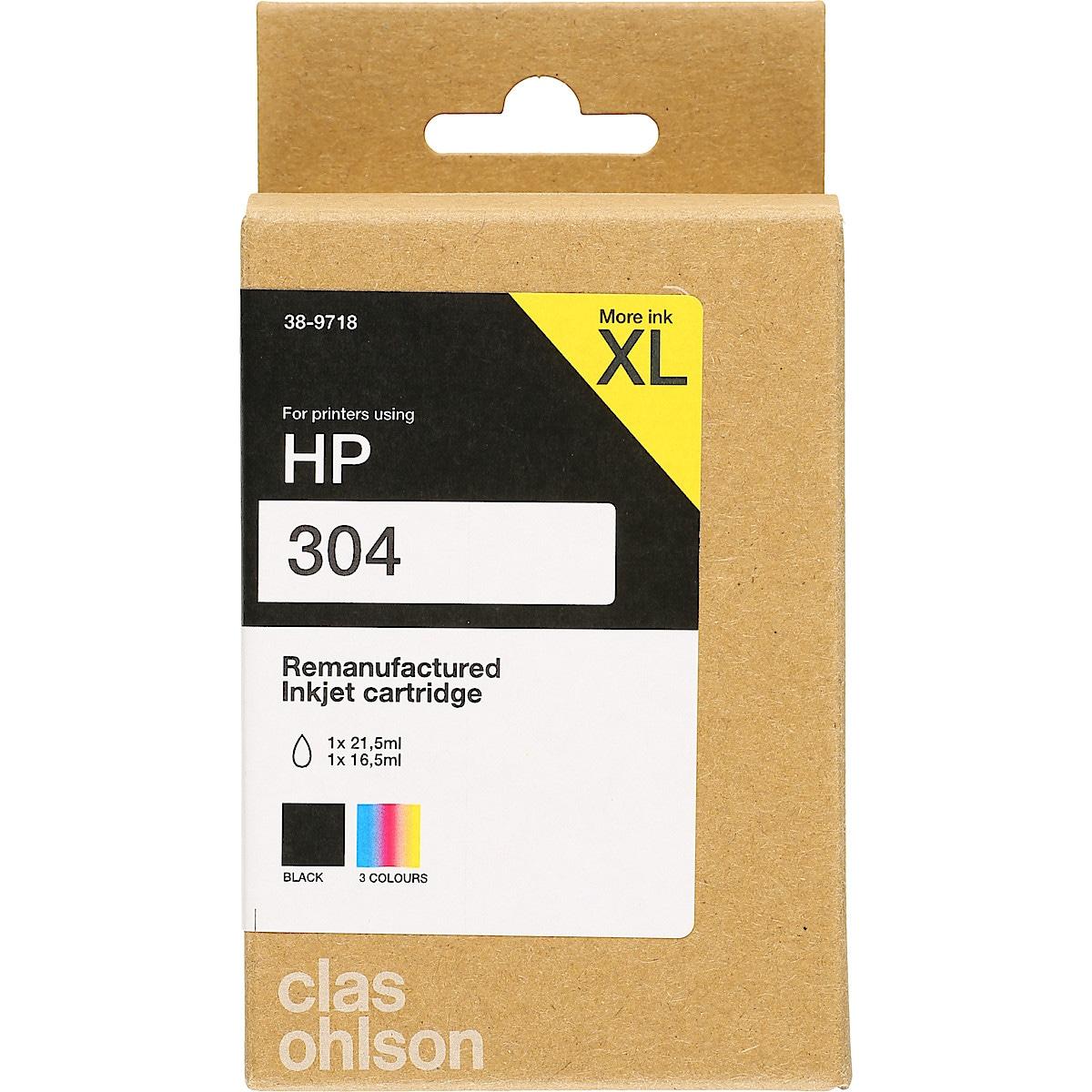 Clas Ohlson blekkpatron XL til HP 304