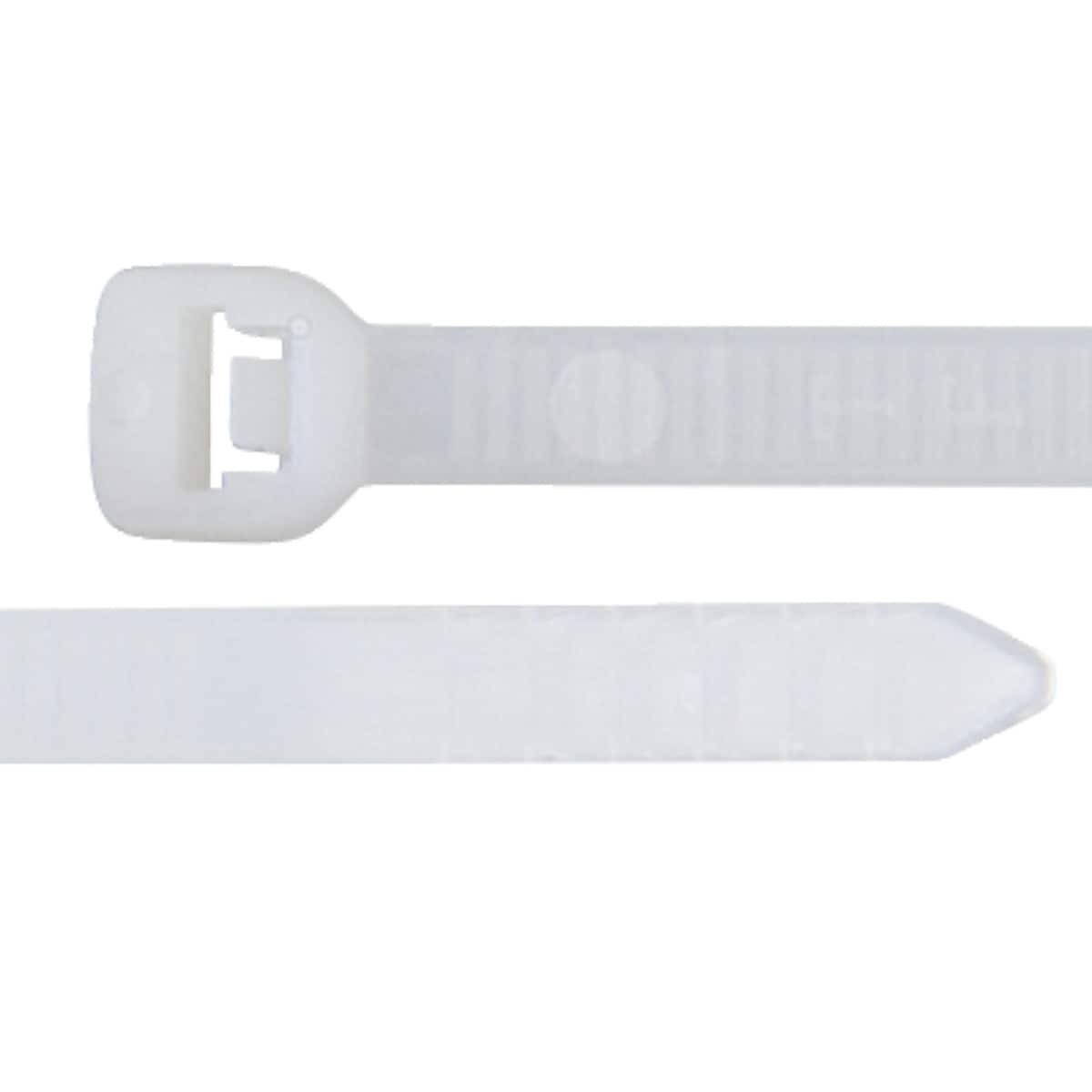 Buntebåndsett, hvite, 75-pack