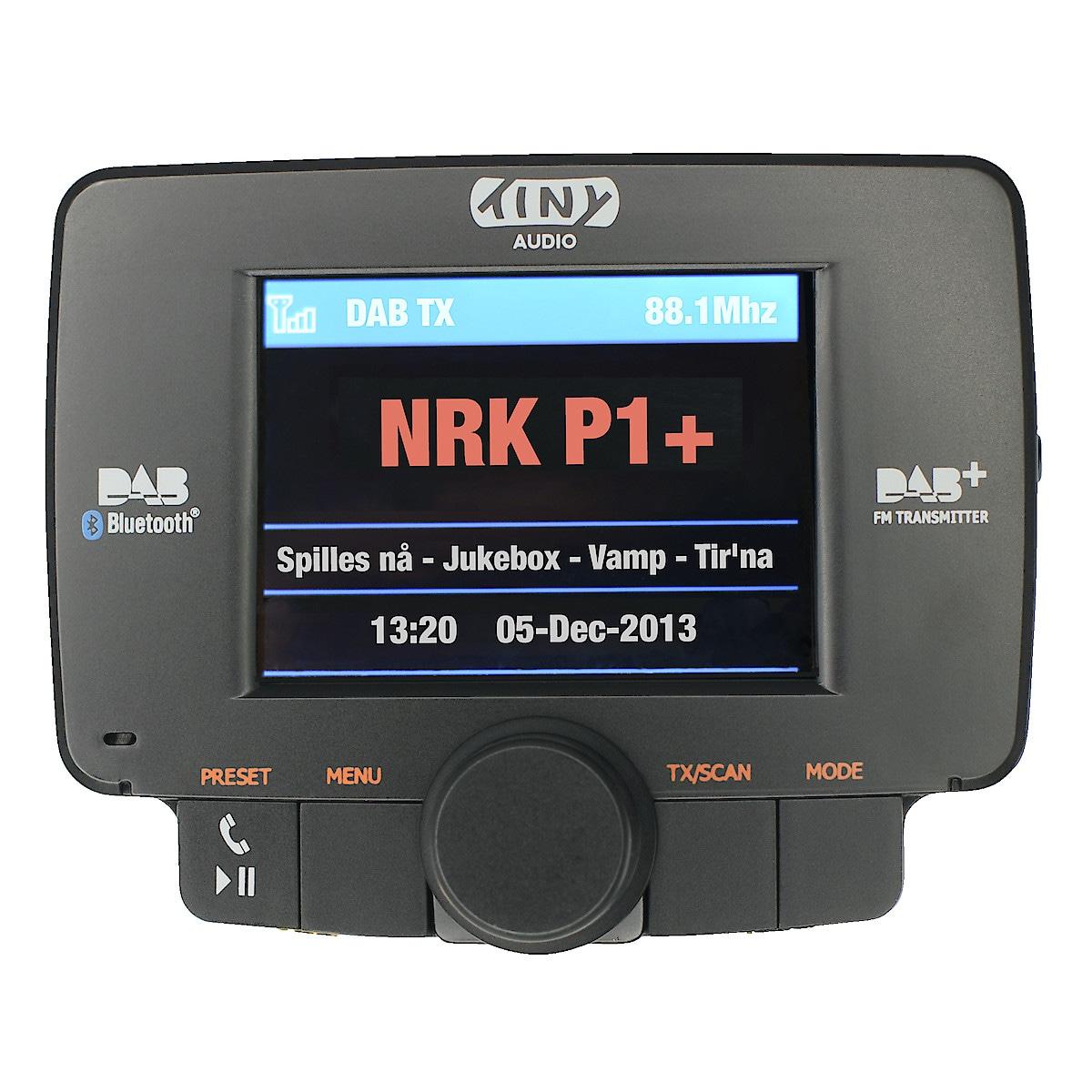 Tiny Audio C3+ DAB+/FM-biladapter