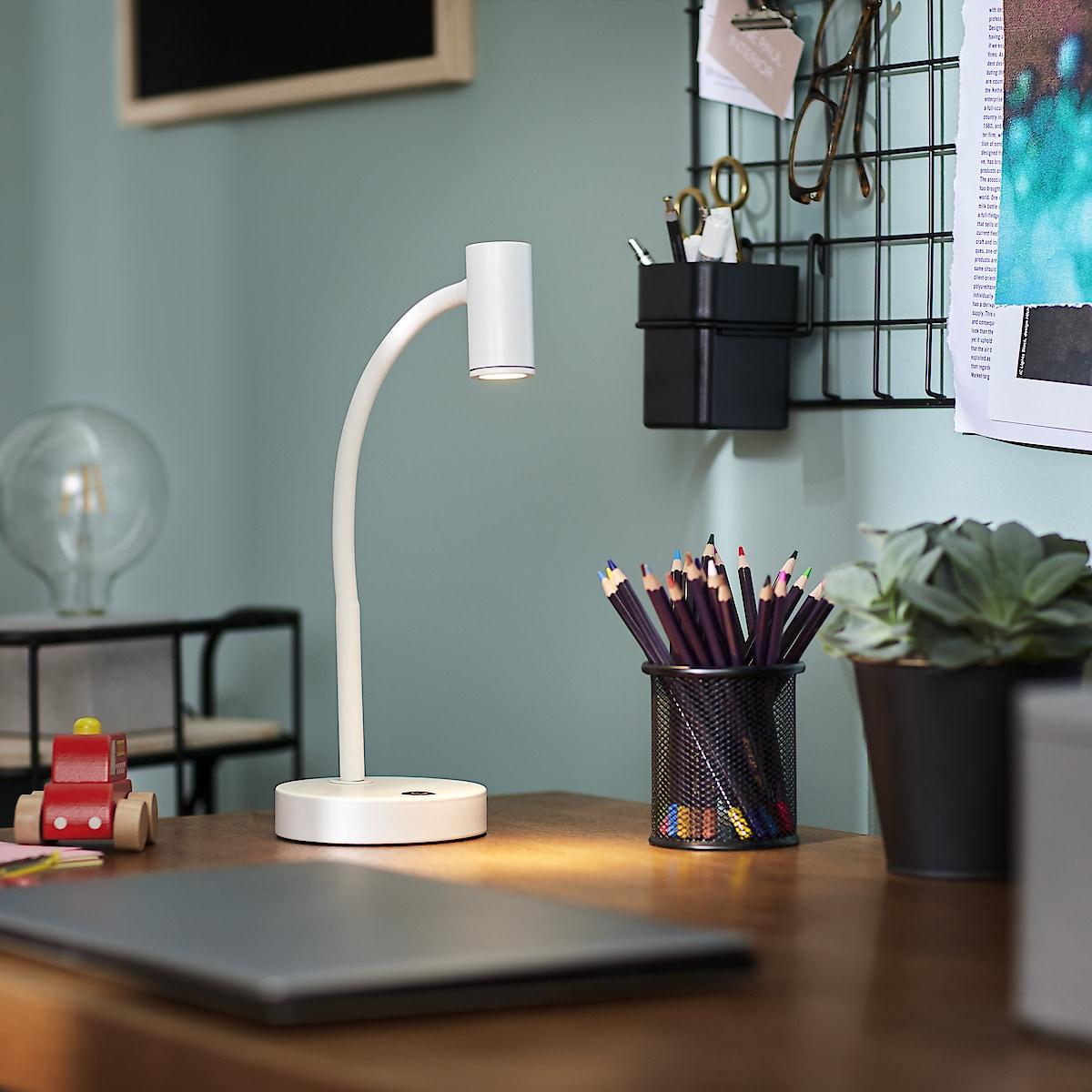 Northlight ladbar LED skrivebordlampe