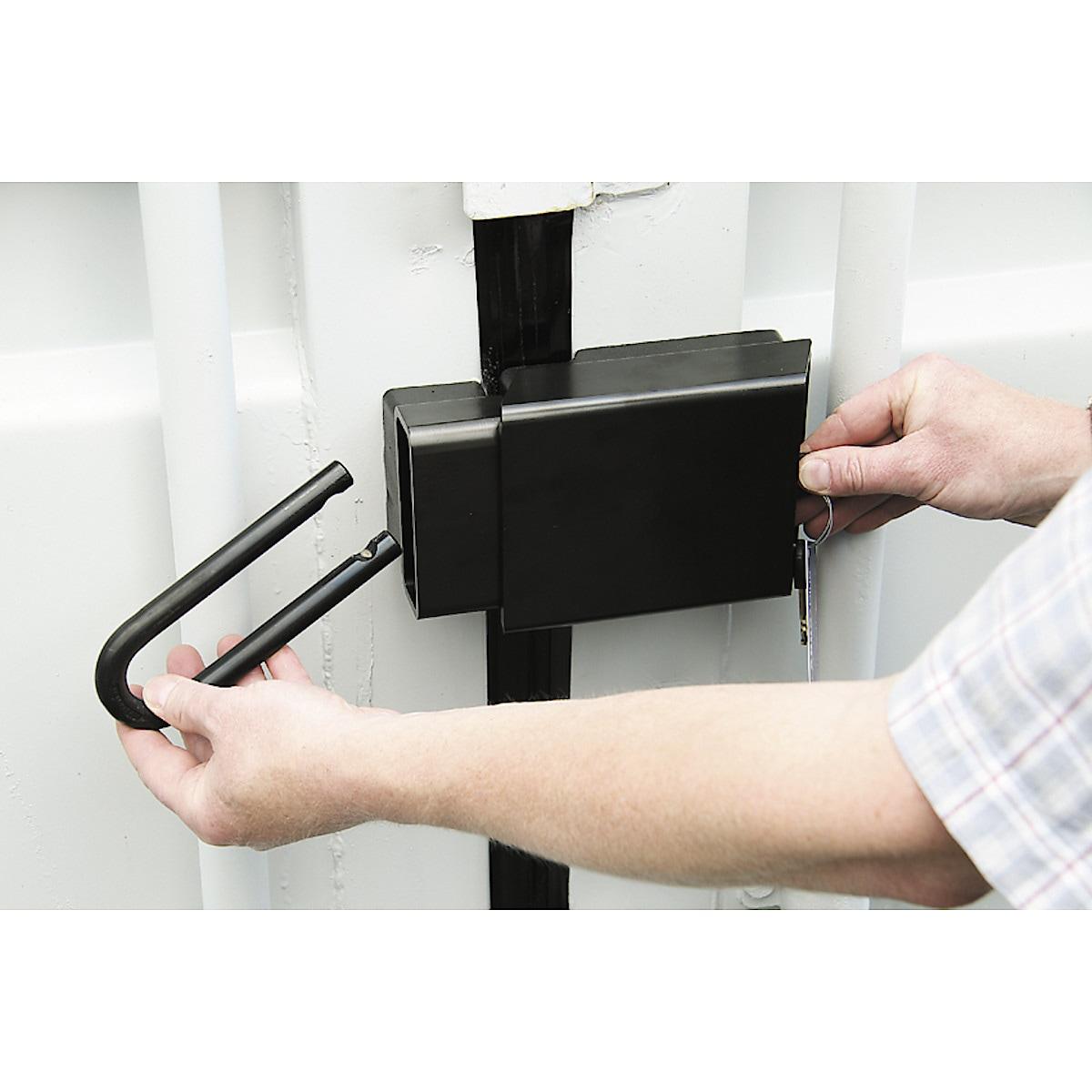 Containerlås Abus Conlock 215/100 3770HB100 klass 4 Granit