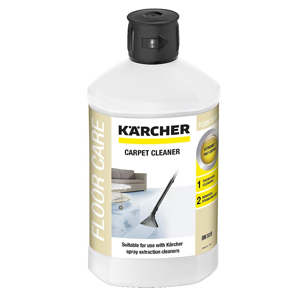 Rengöringsmedel till textil- och mattvätt Kärcher
