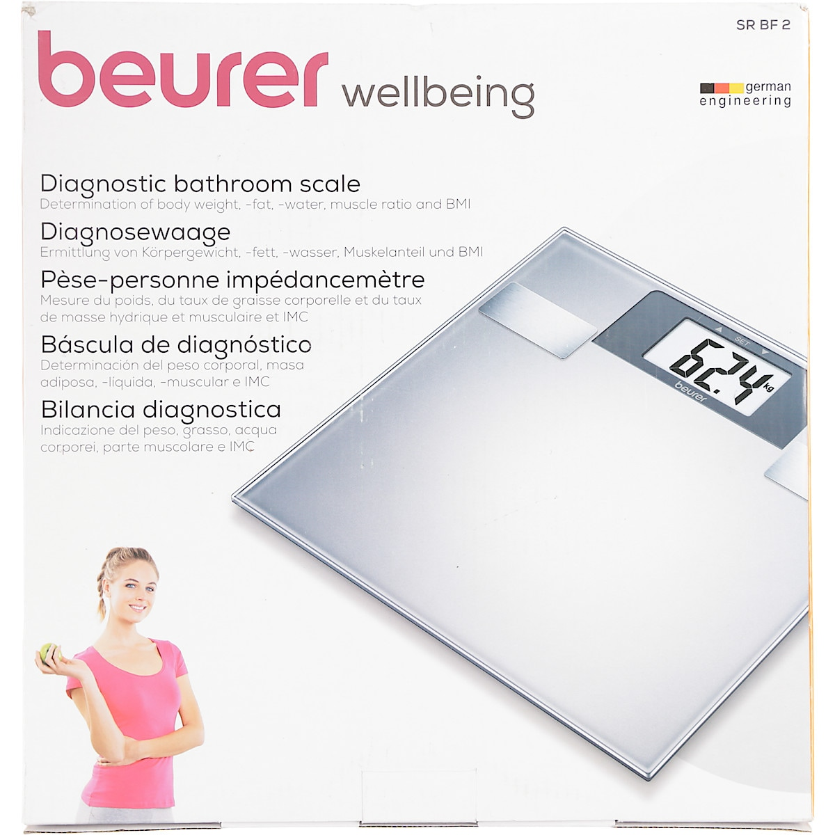 Beurer SR BF2 BMI Bathroom Scale