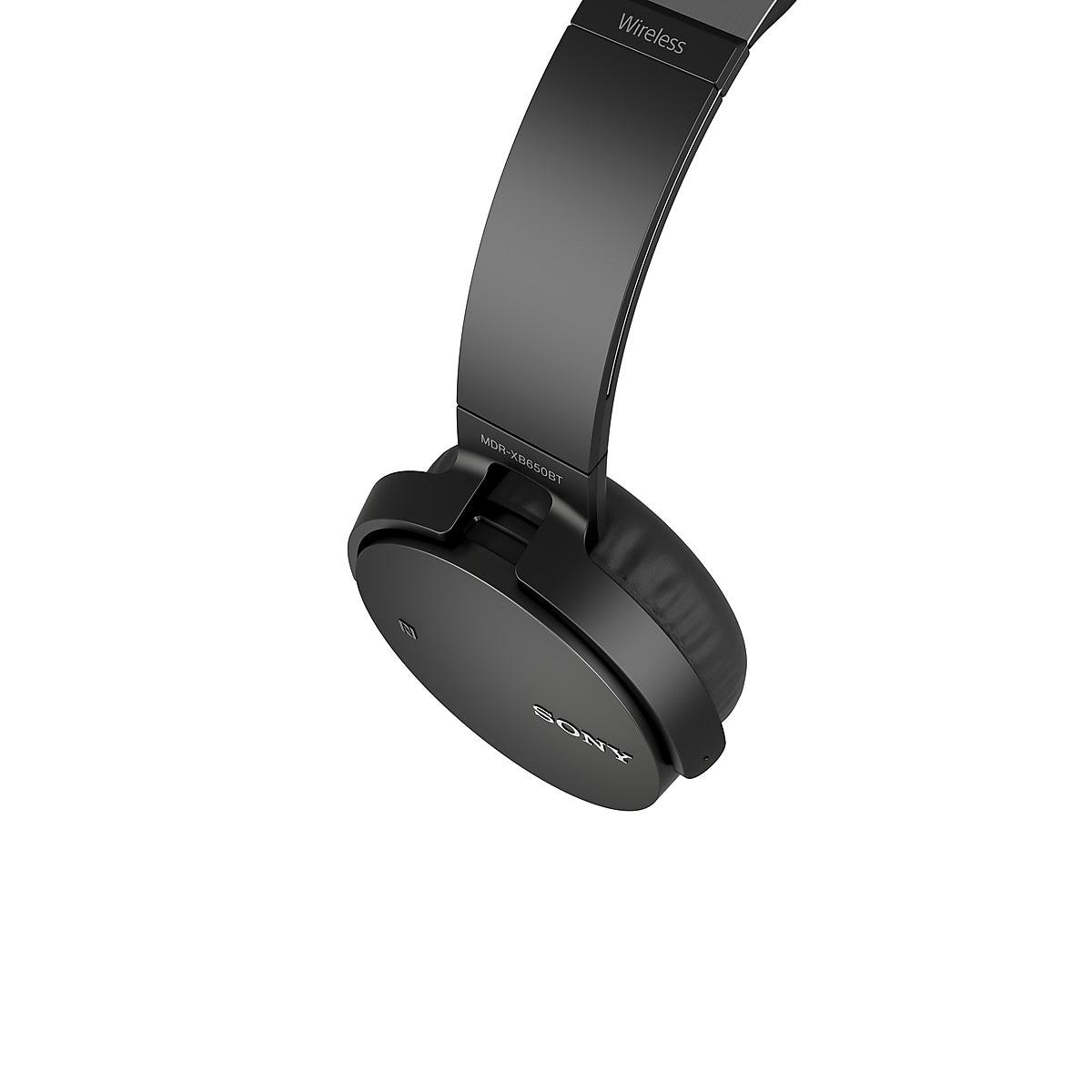 Trådlösa hörlurar med mikrofon, Sony MDR-XB650BT