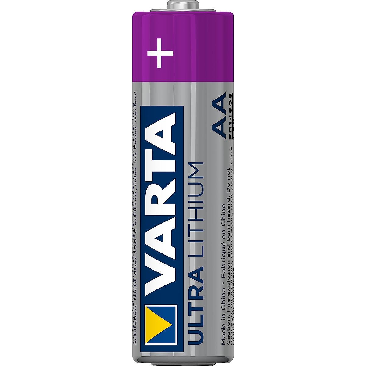 VARTA Ultra Lithiumbatteri AA/FR6 4 pk