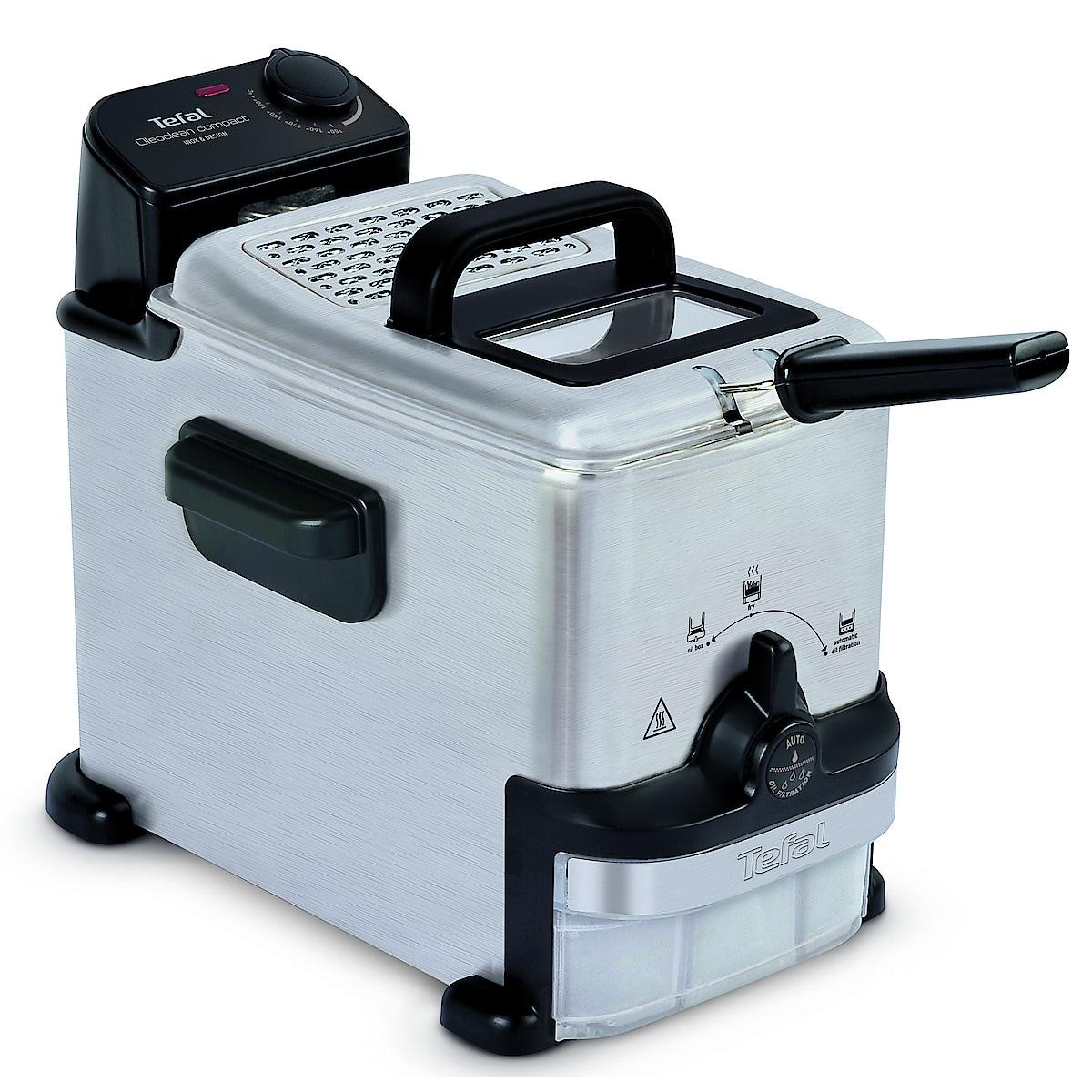 Fritös Tefal Oleoclean Compact FR701616