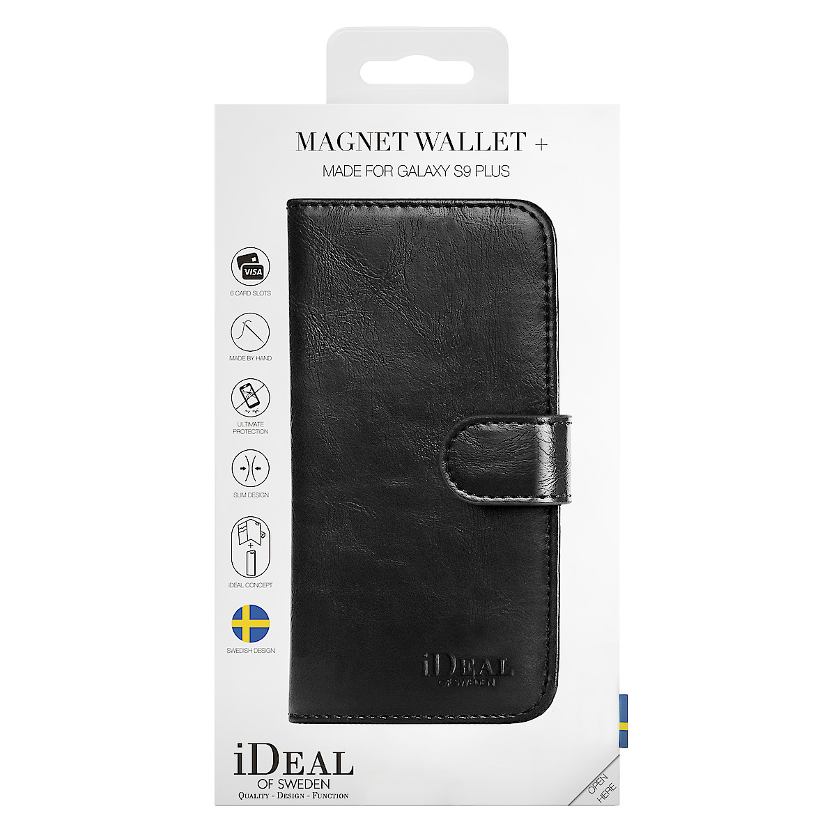iDeal of Sweden lommebokfutteral for Samsung Galaxy S9 Plus