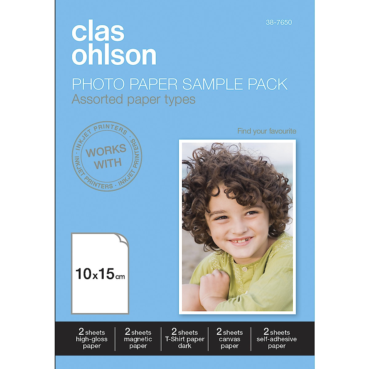 Fotopapperspaket Clas Ohlson