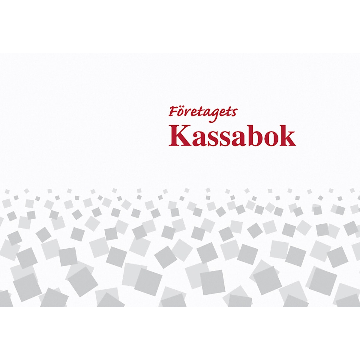 Kassabok A4 L