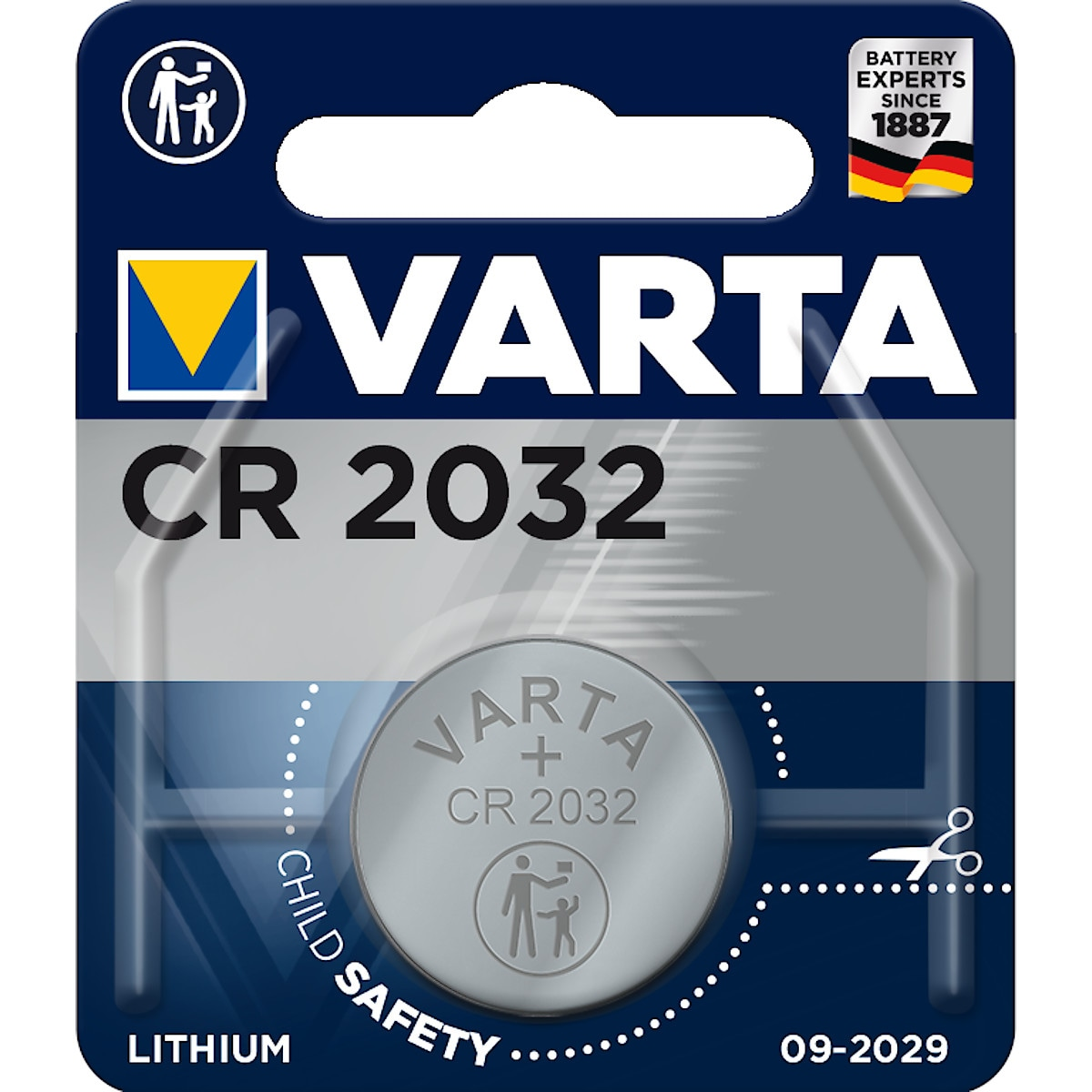 Litiumbatteri CR2032 VARTA