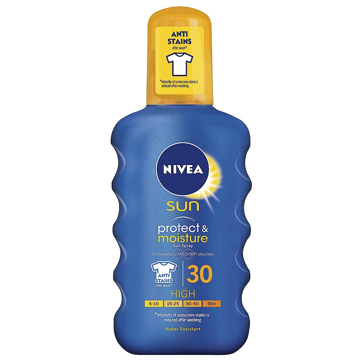 Nivea Sun Protect & Moisture Spray SPF30