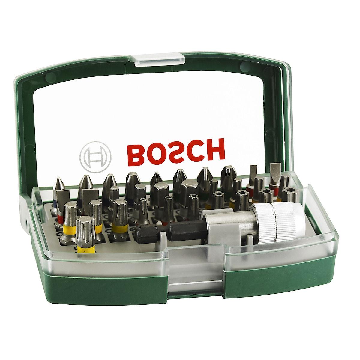 Bosch 32 deler bitssett