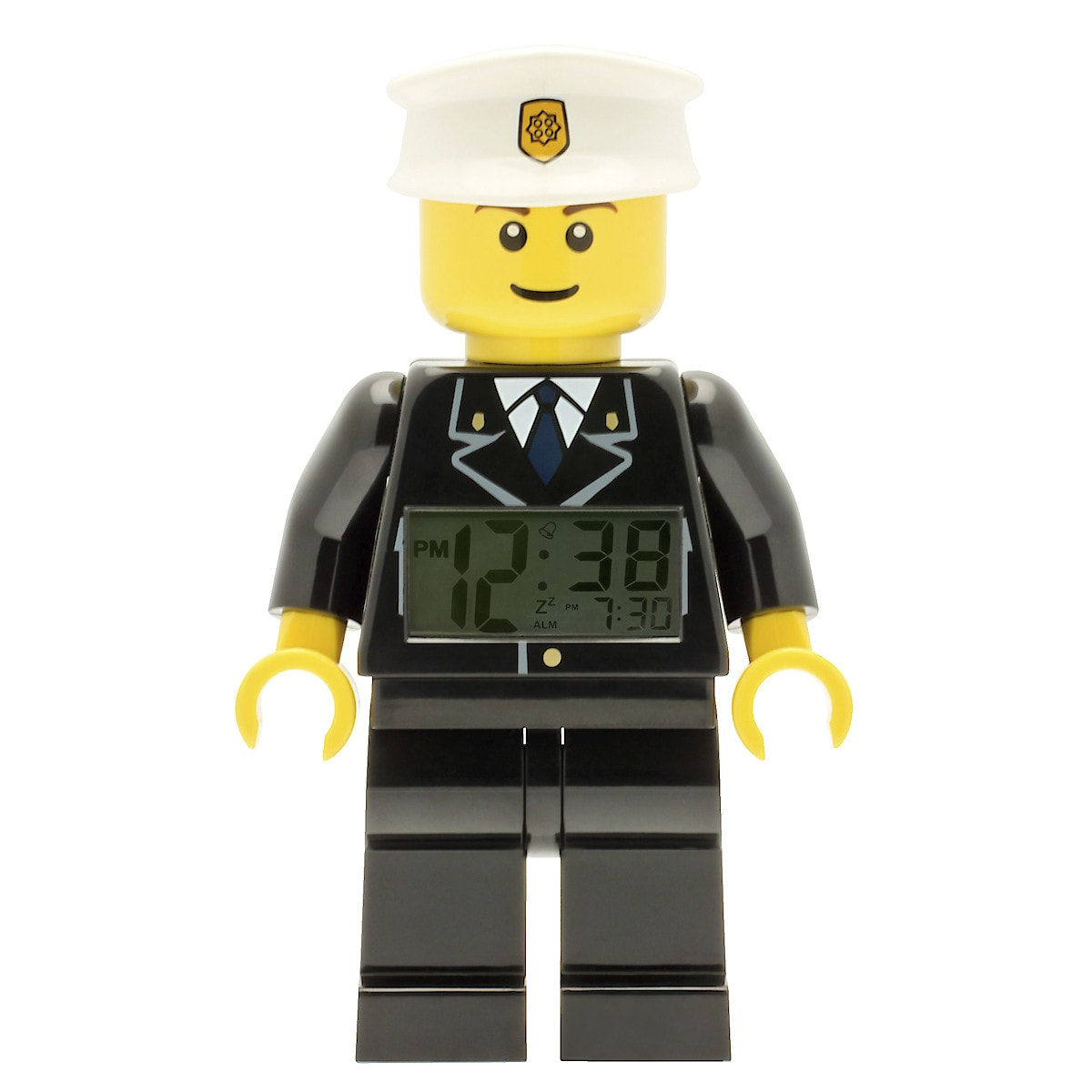 Lego City Police Alarm Clock