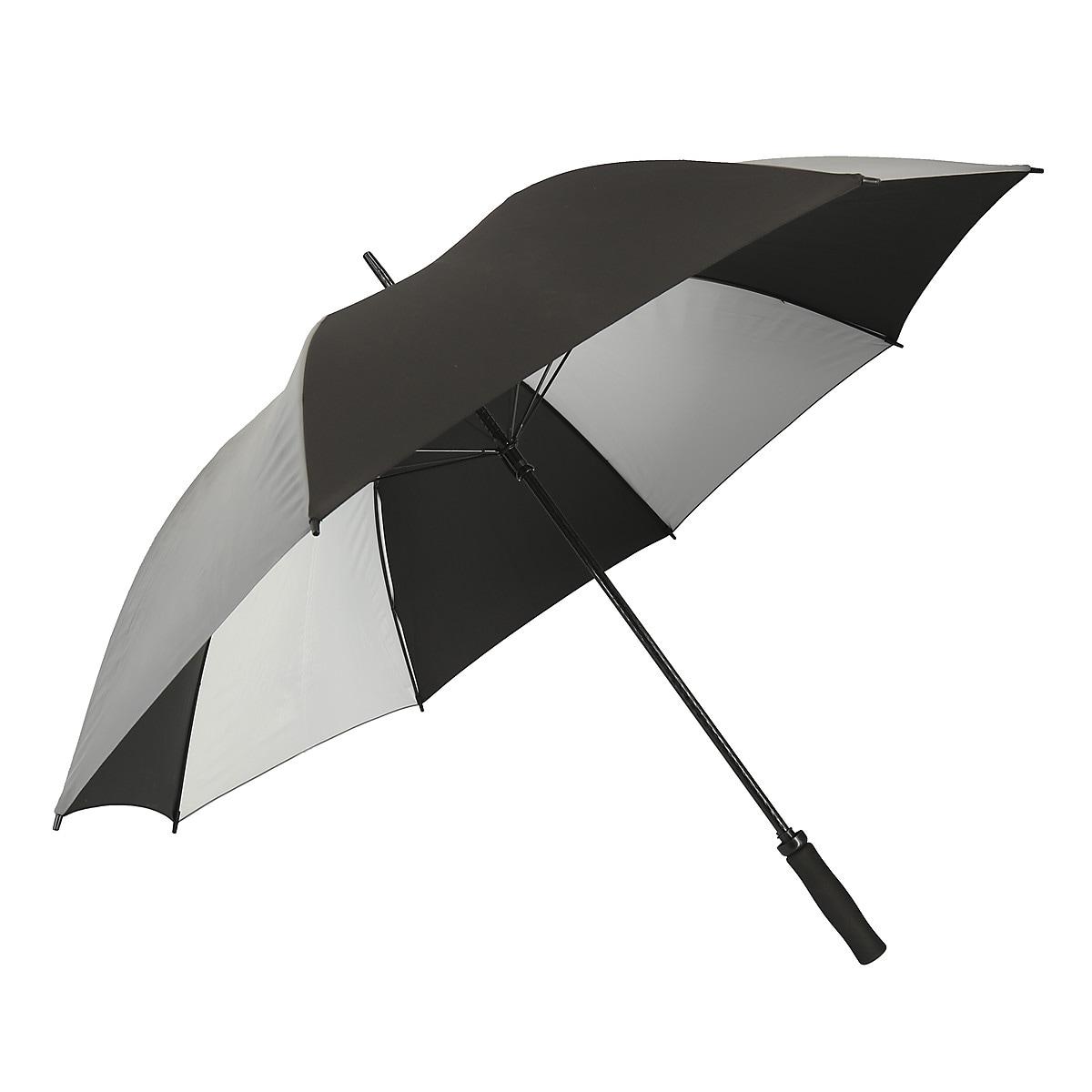 Paraply med reflex 115 cm Asaklitt