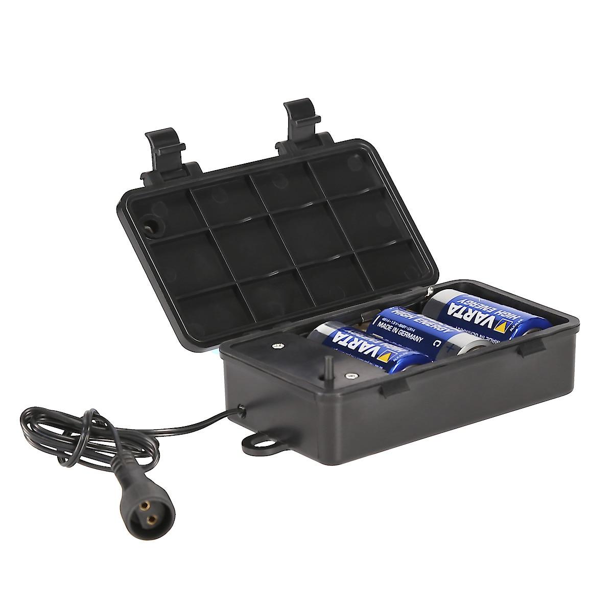 Batteribox till solcellsslingor
