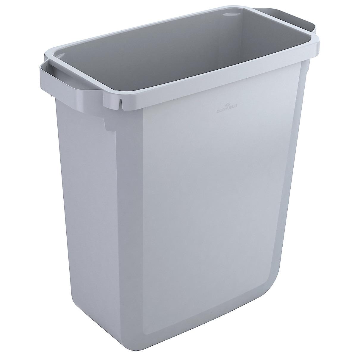 Soptunna Durabin 60 l, grå