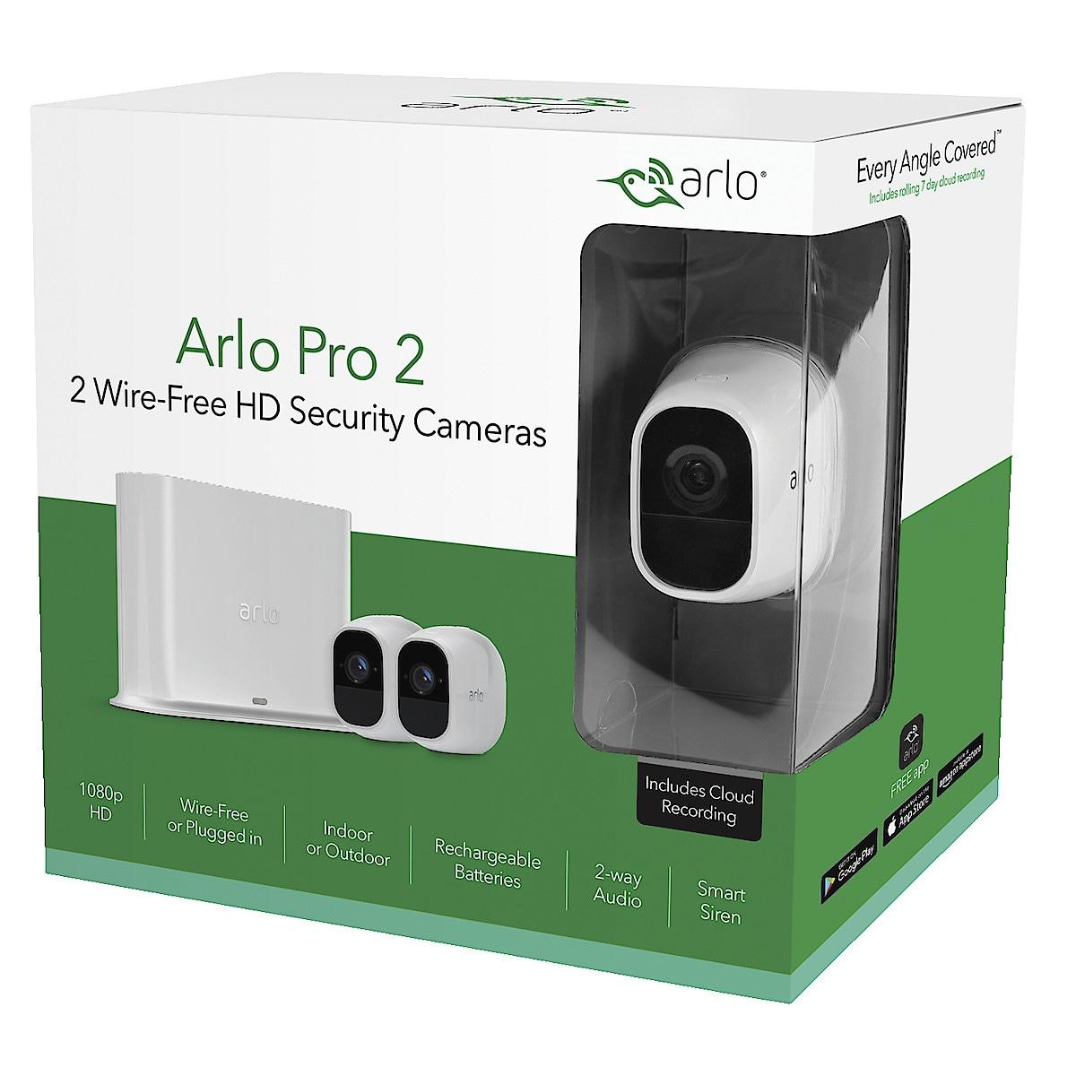 Arlo Pro 2 overvåkningskamera