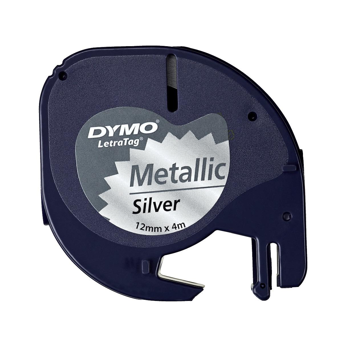 Dymo LetraTag merkebånd 3-pack