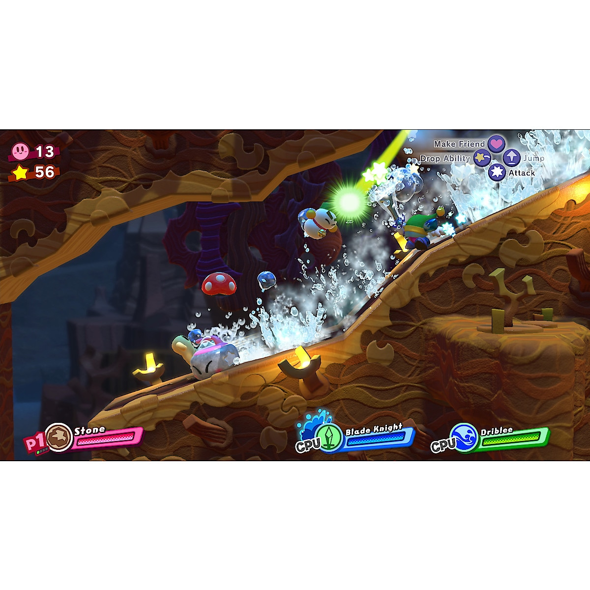 Kirby Star Allies, Nintendo Switch peli