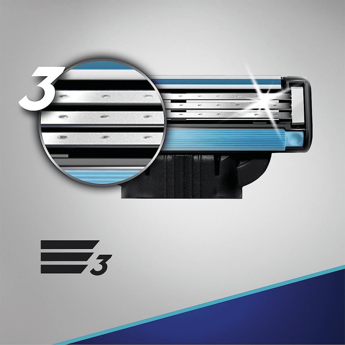 Gillette Mach3, rakblad 6-pack