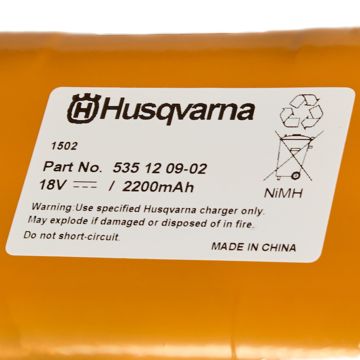 Batteri Gardena R160