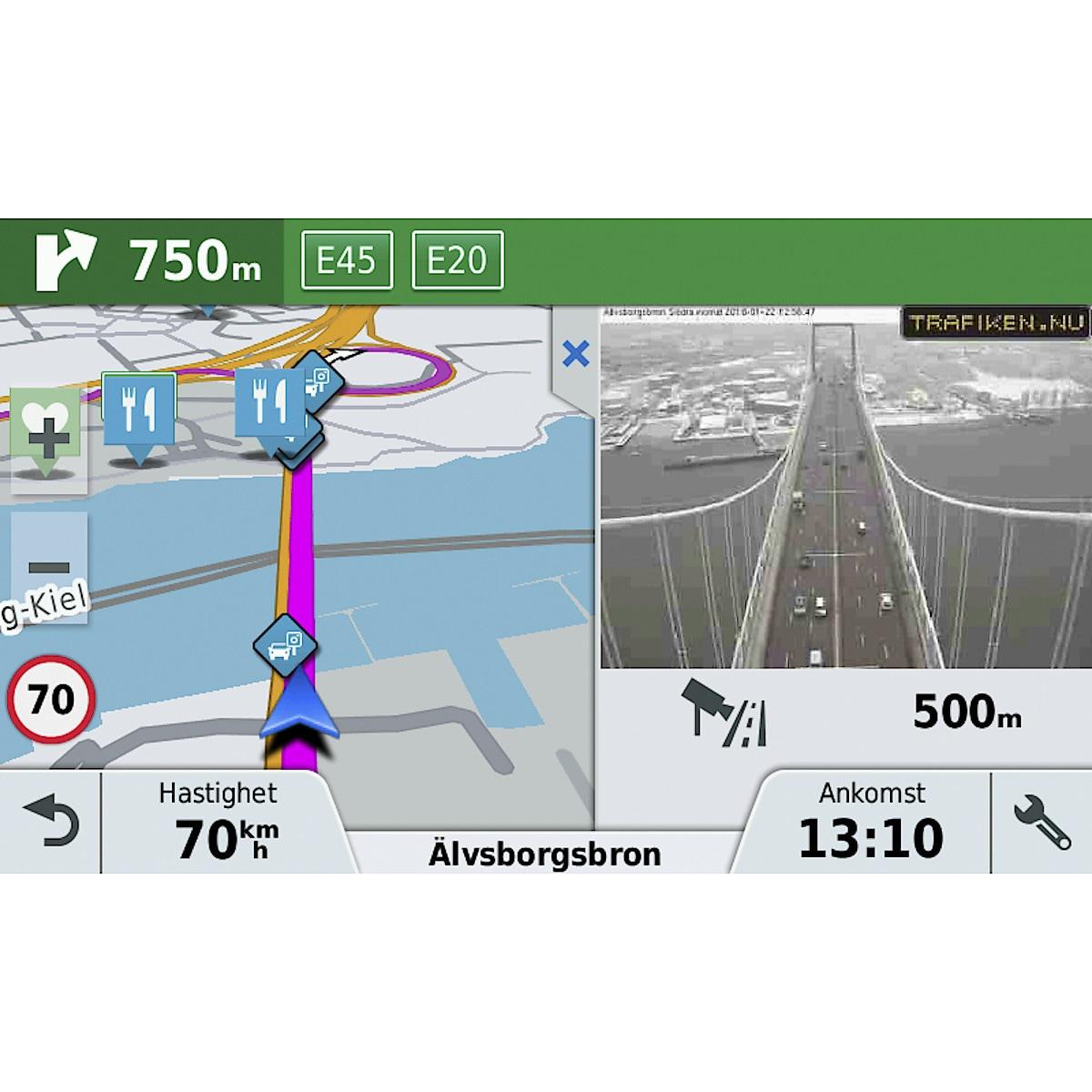 Navigaattori Garmin DriveLuxe 50LMT-D