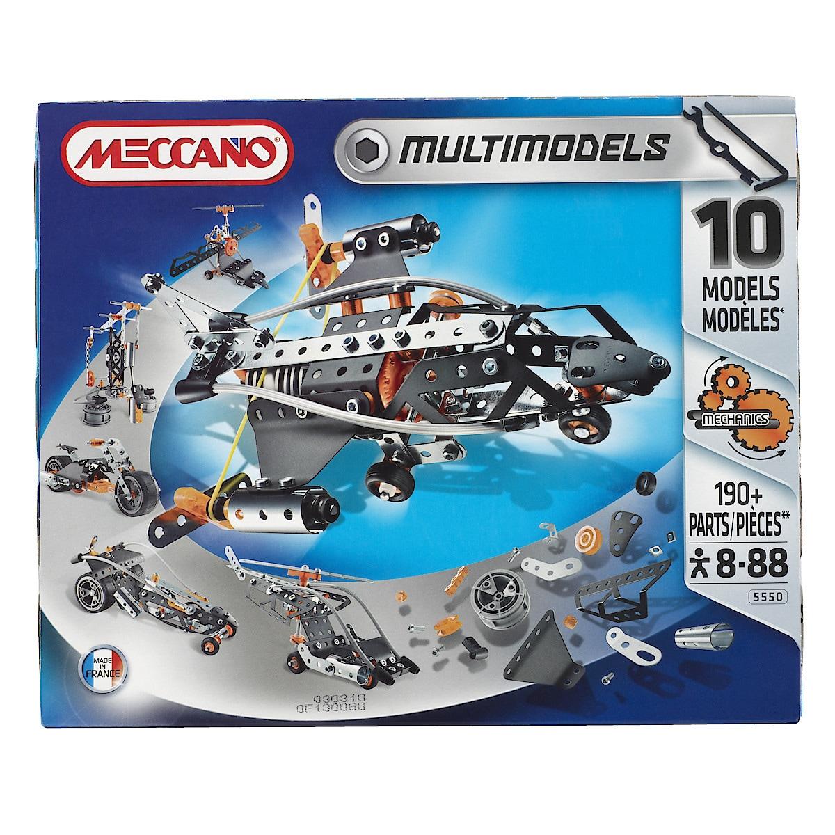 Meccano 10 modellsett
