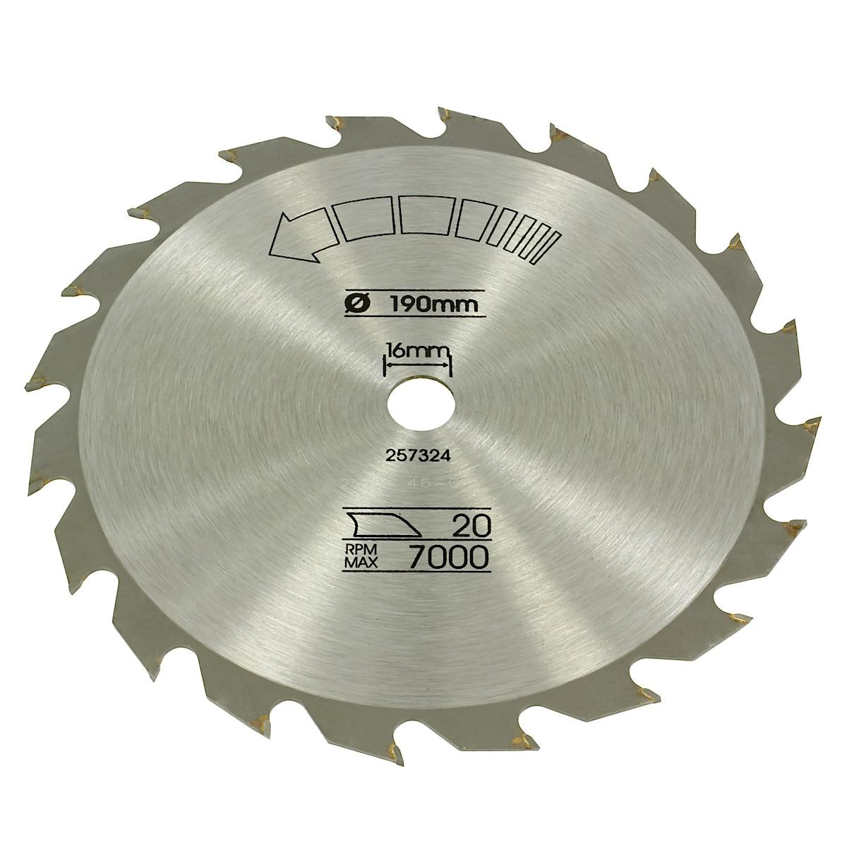 Saw blade B&D Piranha 190 mm X13140