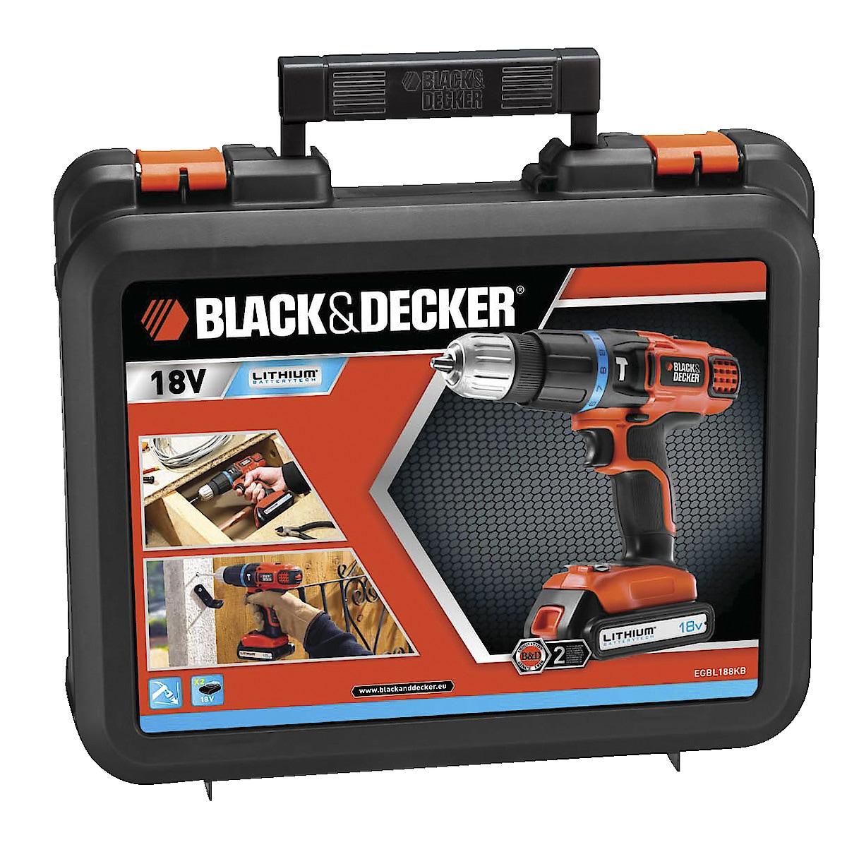 Black & Decker EGBL188KB slagdrill