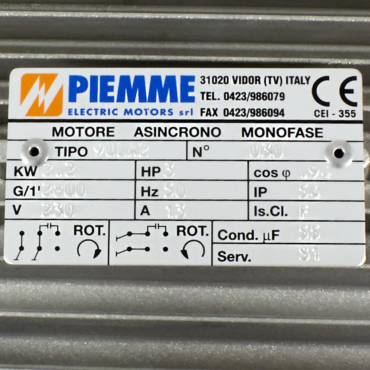 Motor 230 V 1-Phase