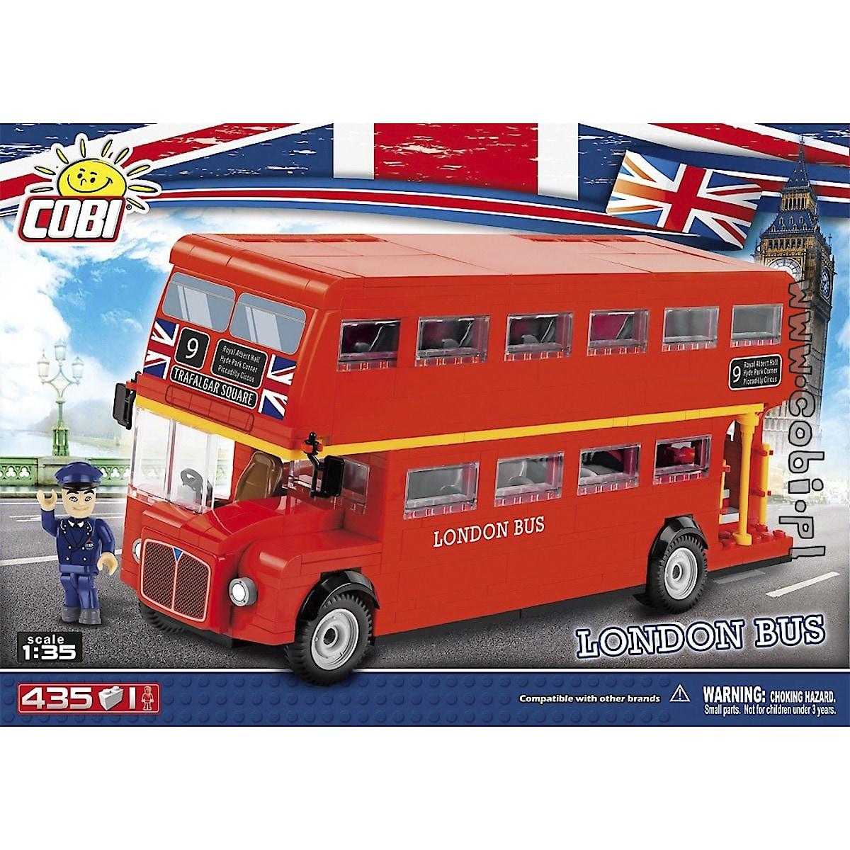 Cobi byggeklosser, Londonbuss